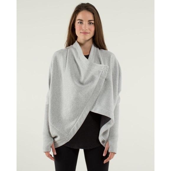 lululemon athletica Jackets & Blazers - Lululemon It Makes Two Wrap Jacket